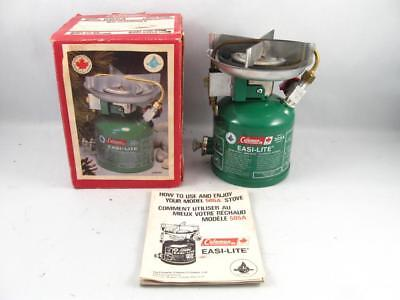 1981 Coleman Easi-Lite Stove Model 505A W/ Box   Excellent Condition