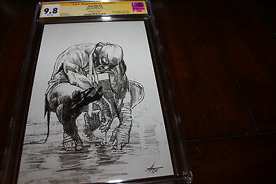 IRON FIST #1✳CGC SS 9.8✳Dell'Otto Virgin Sketch✳600 Print✳SIGNED STAN LEE✳