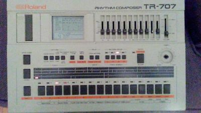 Roland TR-707 Rhythm Composer w/ Power Adapter