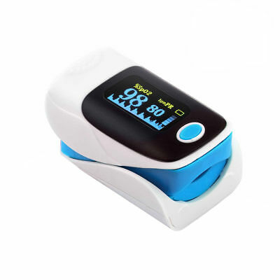 New Finger fingertips Oxygen meter pulse heart rate monitor+fast shipping