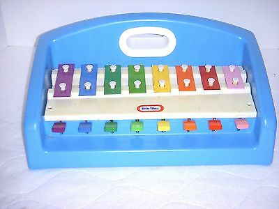 Vintage 1985 Little Tikes Tap A Tune Xylophone Piano Excellent Condition