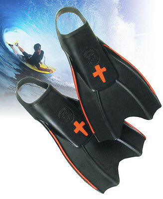 Redback Pro Surf Fins XL Flippers Beach Surfing Waves Snorkeling Swimming Xlarge