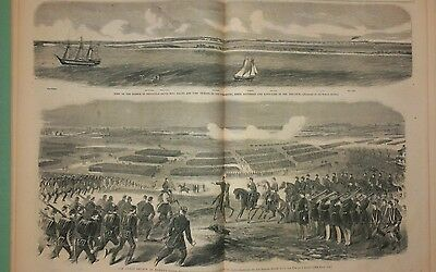 Harper's Weekly 12/7/1861   War in Florida Pensacola / The Great Review/complete