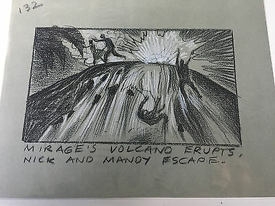 Honey I Blew Up The Kid '92 Original Storyboard Art Aldana 132 Nick Mindy Mirage