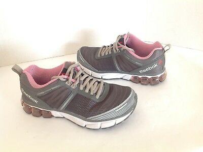 6a684027814b Reebok Jet Dashride 2.0 Womens Size 6.5 Pink Gray Sneakers Running Shoes