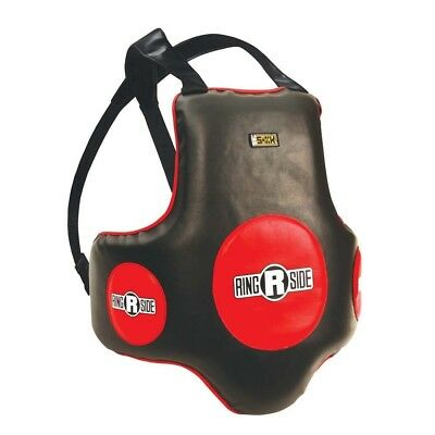 (Black/Red) - Ringside Gel Super Body Protector. Shipping is Free