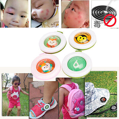 Mosquito Repellent Button Baby Kids Buckle Outdoor Anti-mosquito Repellent gift