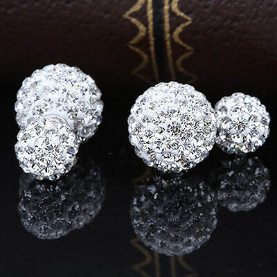 Silver Plated Basket Round Brilliant Cut Solitaire Earrings for GRO