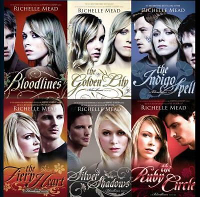 Bloodlines series 1 6 books by richelle mead complete set complete paperback collection richelle mead bloodlines young adult series 1 6 fandeluxe Image collections