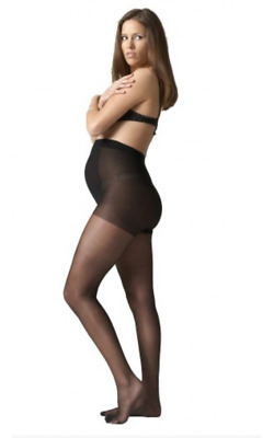 NEW Seraphine Mother 15 - Sheer Maternity Tights