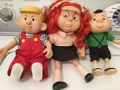 Vintage Dennis The Menace And Friends Dolls