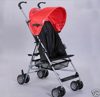 Red Security Collapsible Multi-Purpose Baby Carriage/Baby Stroller  !@&~
