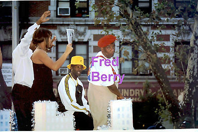 Fred Berry Red Beret Africian American Day Harlem Nyc Rare Unseen Press Photo #4