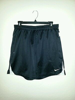 Nike Dri Fit black white athletic Shorts men's size medium