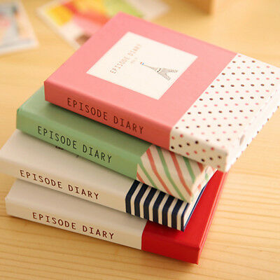 1pc Cute Sticky Notes Notebook with Pen Memo Pad Bookmark Paper Sticker Notepad