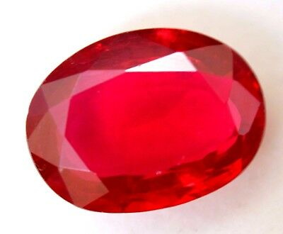VVS 12.50 Ct Natural Red Ruby Mozambique AGSL Certified Oval Cut A+++ Gem Stone