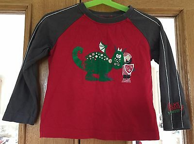 Baby Boys Duffer Saint George Top Size 18-24 Months