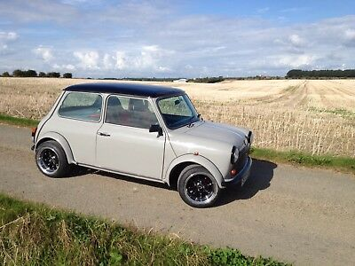classic mini 1988 F reg with R1 engine in the rear new build