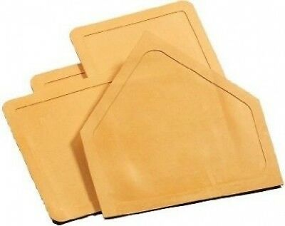 Champro Throw Down Rubber Bases, Set of 4 (Orange). Free Shipping