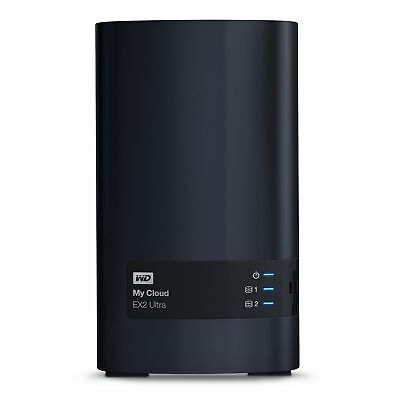 WD My Cloud EX2 Ultra 2-Bay NAS 6TB [2/2 HDD, 1x Gigabit LAN, 2x USB 3.0]