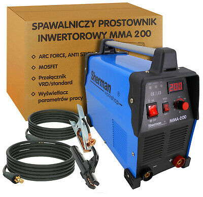 Sherman Inverter ARC Welder Machine MOSFET MMA-200 190Amp TIG DC