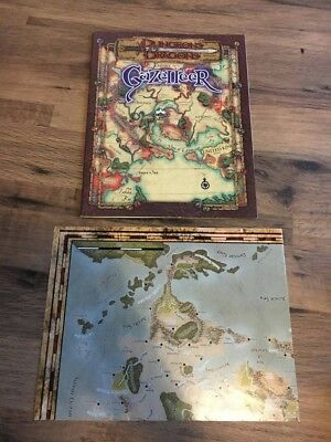 Dungeons and Dragons - Gazetteer (Includes map)