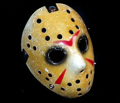 TOP Jason Voorhees Vintage Ice Hockey Horror Maske Freitag der 13 Jason Maske