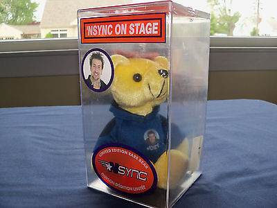 NSYNC ON STAGE JOEY Limited Edition Bear # 4797
