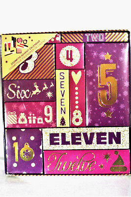 TECHNIC 12 DAYS OF CHRISTMAS COSMETIC ADVENT CALENDAR  lovely gift