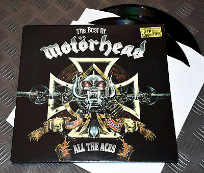 Motorhead 'The Best.. All The Aces' LTD Ed UK Only '93 Double GF-LP Rare EX/EX
