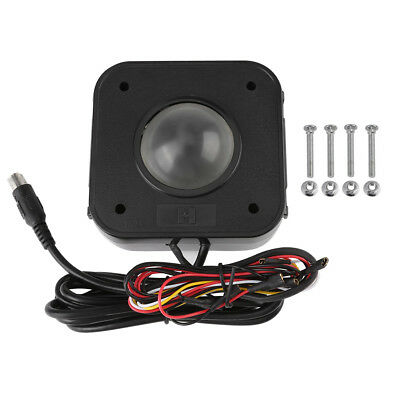 Illuminated  4.5 CM PS/2 PCB Round LED connector Trackball Mouse for Arcade game