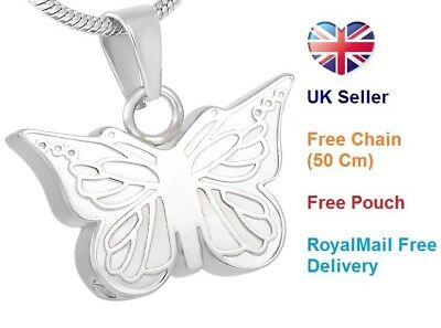 Cremation Jewellery for ashes, Memorial Necklace pendant, keepsake Urn for ashes