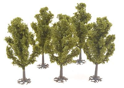 Tall Yew Tree 100mm Pack of 5 by WWS – Scenery Terrain Landscape Railways
