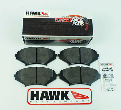 Mazda RX8 Front Fast Road/Track Day Hawk HP Street Race Brake Pads