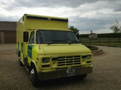 GMC Chevrolet Ambulance