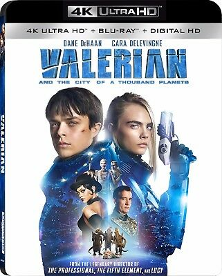 Valerian and the City of a Thousand Planets (4K Ultra HD)(UHD)(Atmos)