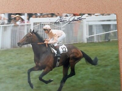 "Photo, ""SLIP ANCHOR"" signed by ""STEVE  CAUTHEN"""