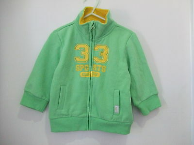 New Pumpkin Patch Zip Up Jumper Size 12-18mth