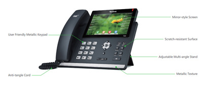 New Yealink SIP-T46G Ultra-Elegant Gigabit IP Phone