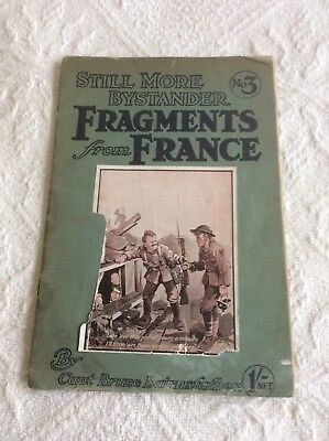 WW1 Bruce Bairnsfather Bystanders No 3 Fragments From France Comic Book