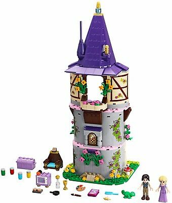 LEGO Disney 41054 Rapunzel's Creativity Tower Complete Set w/ Manual&Figs (No Bo