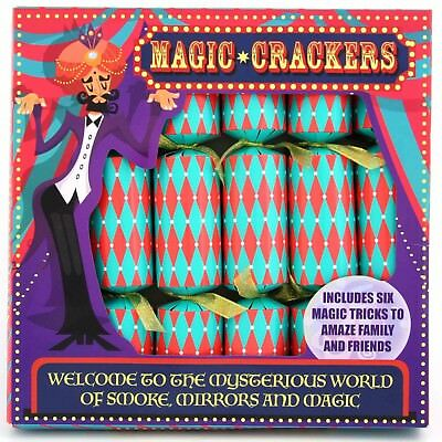 "6 x 12"" Magic Game Christmas Crackers"
