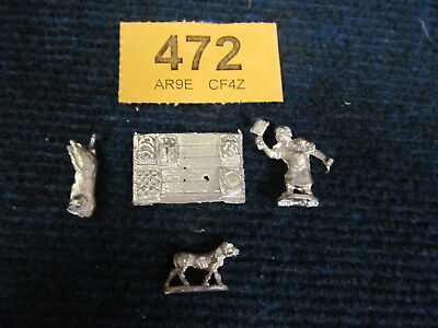 Butcher Shop &Dog AD&D Runequest Fantasy Warhammer RPG 28mm Wargaming Miniatures
