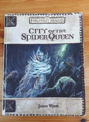 Dungeons and Dragons 3.5 Adventure  - City of the Spider Queen