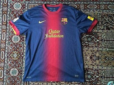 Barcelona FC Football Shirt (XL) Home