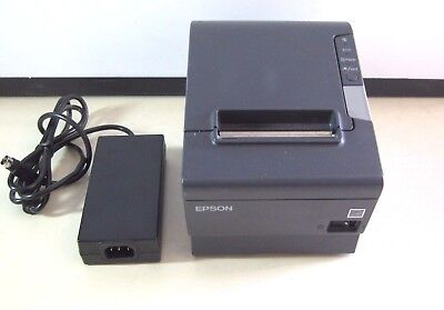 Epson Tm-T88V Ethernet Thermal Receipt Printer With Auto-Cut & Power Supply #c1
