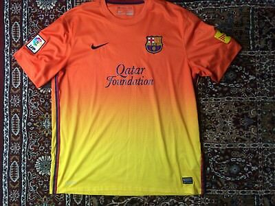 Barcelona FC Football Shirt (XL) Away 2012/2013