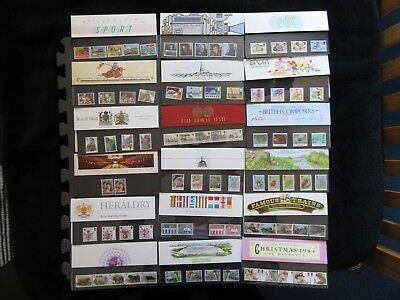 G.B Presentation Packs Collection (18 Packs) All Pictured - (see description)