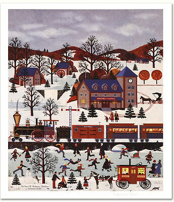 Jane Wooster Scott THE VIEW AT ARDMORE JUNCTION Limited Edition Litho Signed NEW