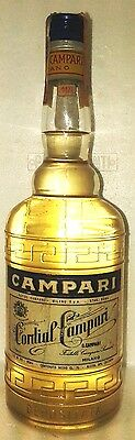 very old liquor cordial campari milano cl 75 36°